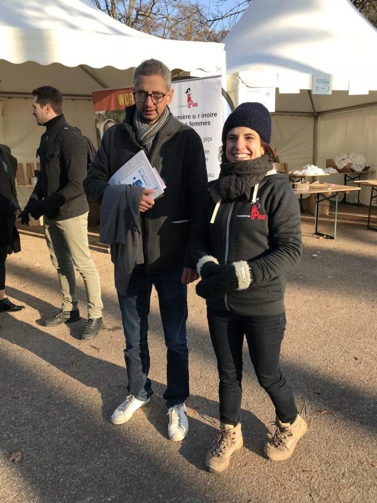 Nathalie et Alexandre à Urgent Run