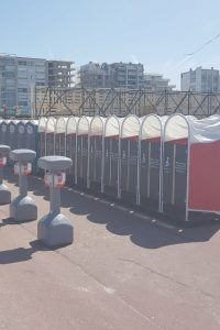 Urinoires pour femmes madamePee Touquet Music Beach