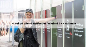 urinoires pour femmes madamePee au Hellfest