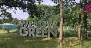 Signalétique We Love Green