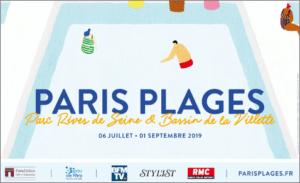 Affiche Paris Plage 2019